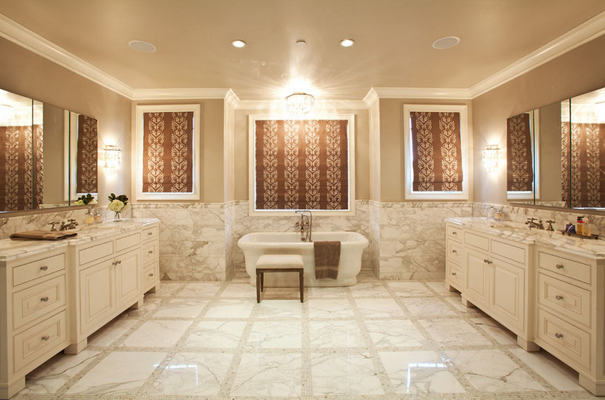 Calacatta Bathroom Tile