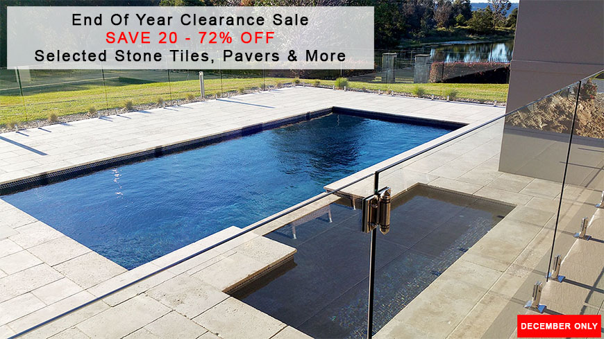Natural Stone Tile 2018 End of Year Clearance