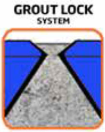 Grout Lock System