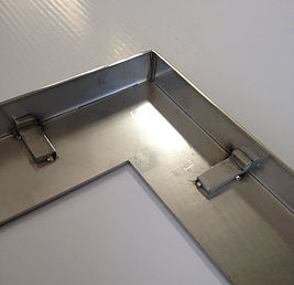 Hide Drain Recess Frame