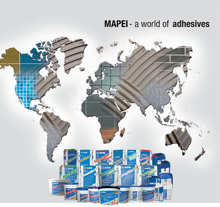 Mapei - The World of Adhesive