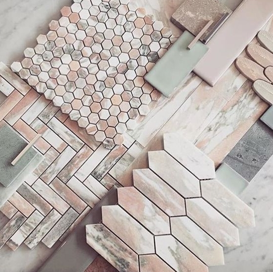 Norwegian Rose Marble Tile